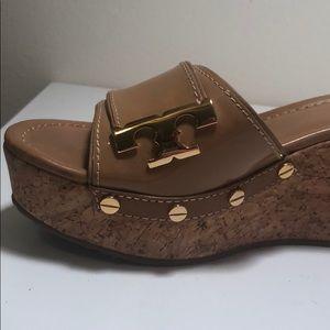 Tory Burch Shoes - Tory Burch Wedge Slides